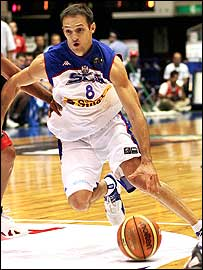 Serbia and Montenegro's Igor Rakocevic