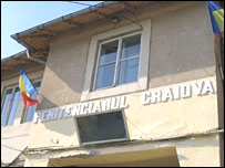 The prison in the Romanian town of Craiova