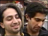 Sohail Ashraf (L) and Khurram Zeb
