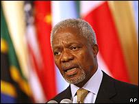 Secretario General de la ONU, Kofi Annan