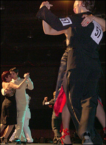 Tango competitors