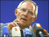 Wolfgang Schaeuble, German Interior Minister