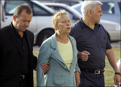 Relatives of crash victims arrive at St Petersburg airport to fly to Ukraine