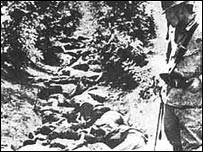 Bodies in a ditch, Nanking