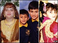 Uzma Rahan, Abbas Arshad, Adam Arshad and Henna Arshad