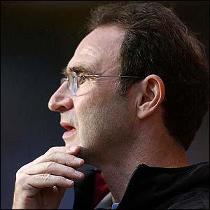 New Villa boss Martin O'Neill