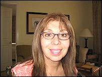 Emma Lozano, activista del Centro Sin Fronteras, en Miami