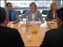 Ruth Kelly meeting with Muslim leaders earlier this month