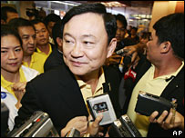 Prime Minister Thaksin Shinawatra (file photo)