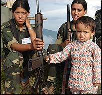 Maoists in Palpa district