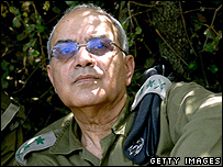Lt Gen Dan Halutz, Israeli chief of staff