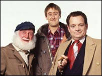 Uncle Albert, Rodney and Del from Only Fools And Horses