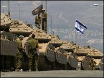Израильские танки на юге Ливана