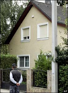 The house in Strasshof where Natascha Kampusch was allegedly held