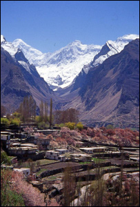 Researchers studied the western Himalaya