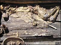 the Scythian mummy