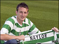 Celtic's Lee Naylor