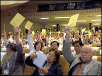 Voting and the IAU meeting (IAU)