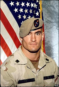 The late American football star-turned-soldier Pat Tillman