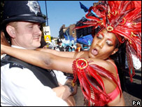 Carnival police officer