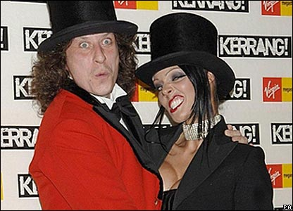 Stuart Cable dressed as a ringmaster