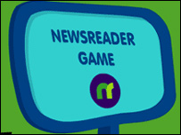 Press Pack Newsreader game graphic