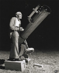 Clyde Tombaugh.