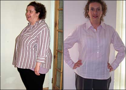 "Ailsa Jeffries has lost 11.5 stones since last September when she tried the Cambridge diet: ""I was seriously considering stomach surgery but was frightened by the risks."""