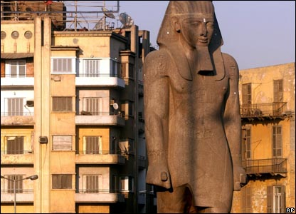 King Ramses II statue in Ramses Square