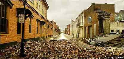 Distrito Franc�s de Nueva Orleans en 2005