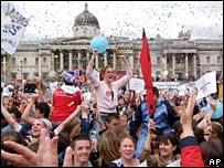 London Olympic celebrations