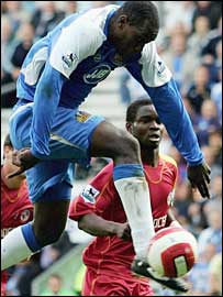 Wigan striker Emile Heskey