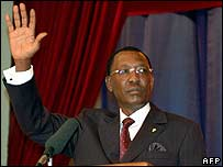 Chad President Idriss Deby 