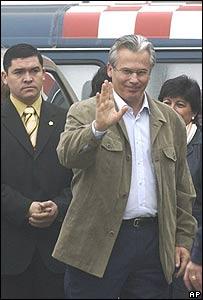 Juez Baltasar Garzón llega a Santiago de Chile