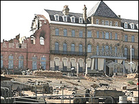 Atonement film set at Redcar