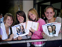 Jade Morgan, Rachel Szafnauer, Samantha Stribling and Melissa Evans