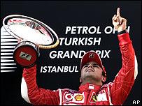 Massa fue el más rápido durante todo el fin de semana en Turquía.