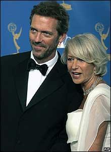 Hugh Laurie and Helen Mirren