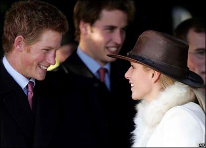 prince william prince harry. Zara Phillips, Prince Harry