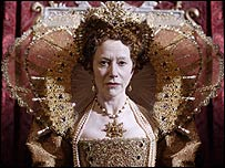 Helen Mirren as Elizabeth I