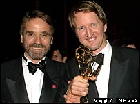Jeremy Irons and Tom Hooper