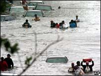 Inundaciones en Nueva Orleans.