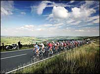The Tour of Britain passes through the Pennines