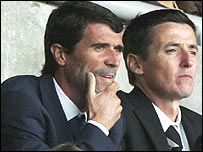 Roy Keane and Tony Loughlan
