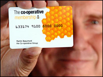 Co-operative loyalty card
