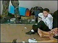 Boy in Beslan hostage video