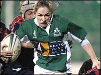 Ireland captain Sarahjane Belton