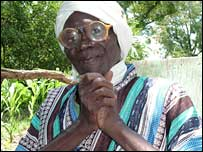 Djinodji August, chief of Maikeri village