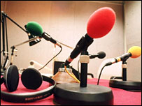 Radio microphones and headphones