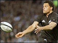 Doug Howlett in action for the All Blacks